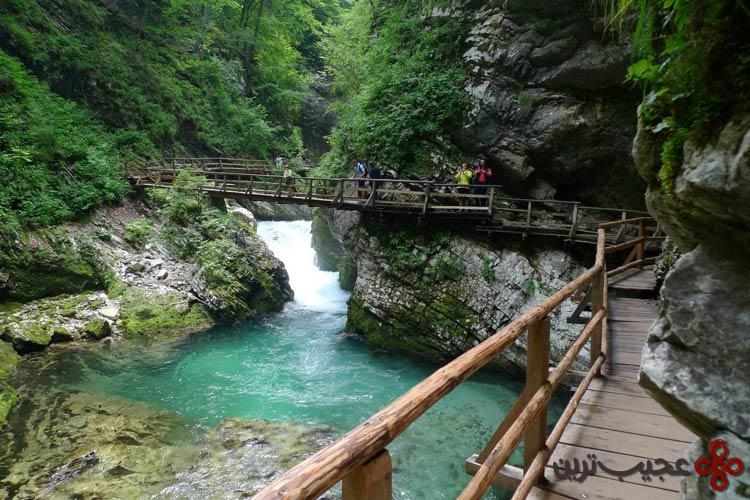 رودخانه رادونا (radovna)، بلد جرج، اسلوونی۳