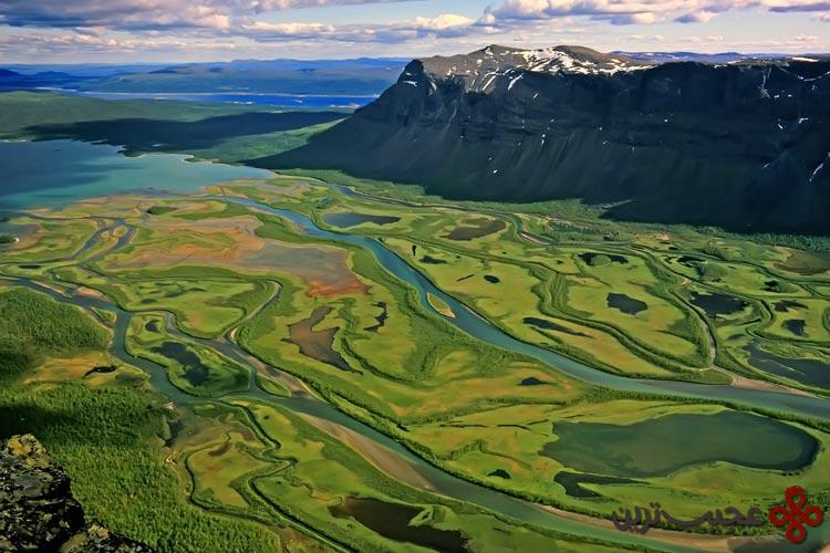 رودخانه راپا، سوئد۱