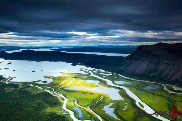 رودخانه راپا، سوئد۳