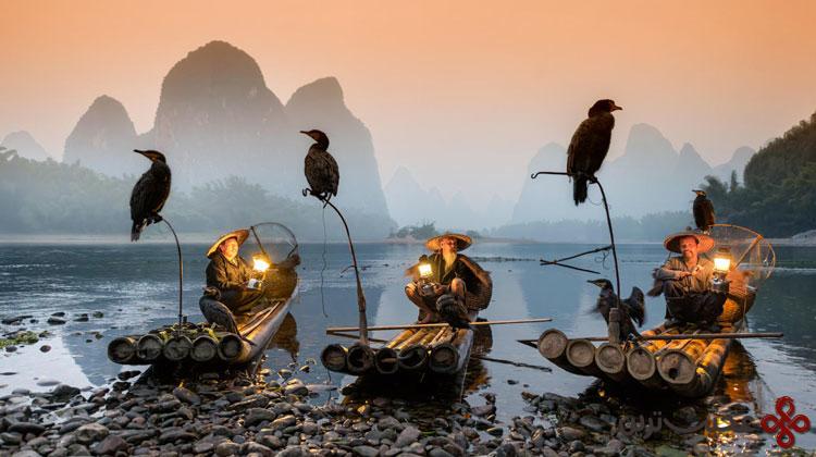 رودخانه لی، گوانگشی، چین۱