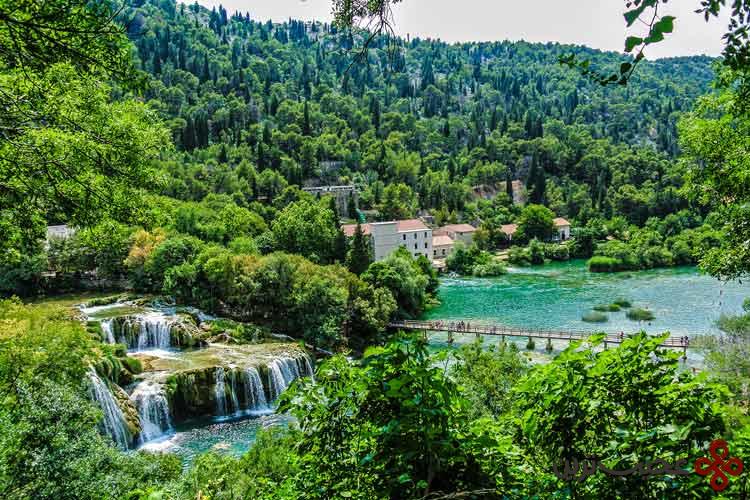 رودخانه کرکا، کرواسی۲