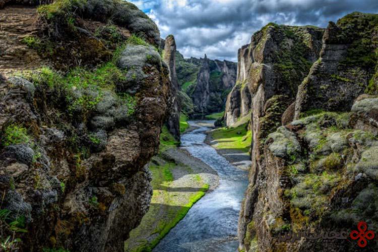 رودخانه fjaðrá، ایسلند۱