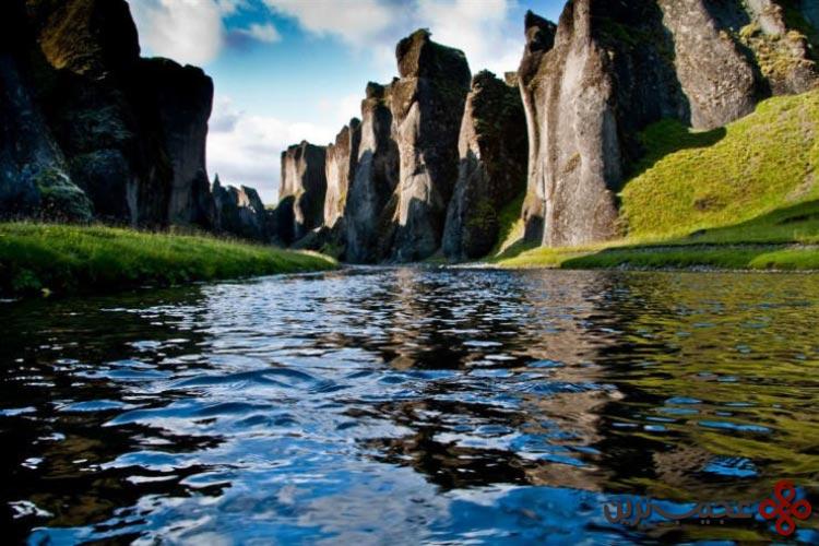 رودخانه fjaðrá، ایسلند