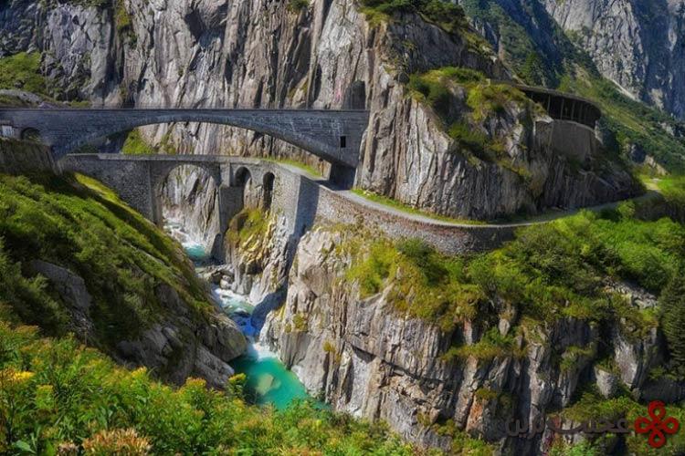 رودخانه reuss، سوئیس۱