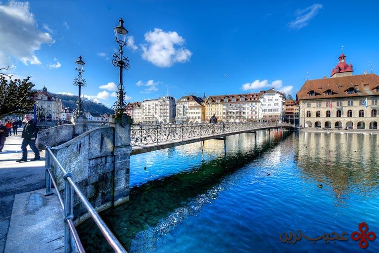رودخانه reuss، سوئیس۲