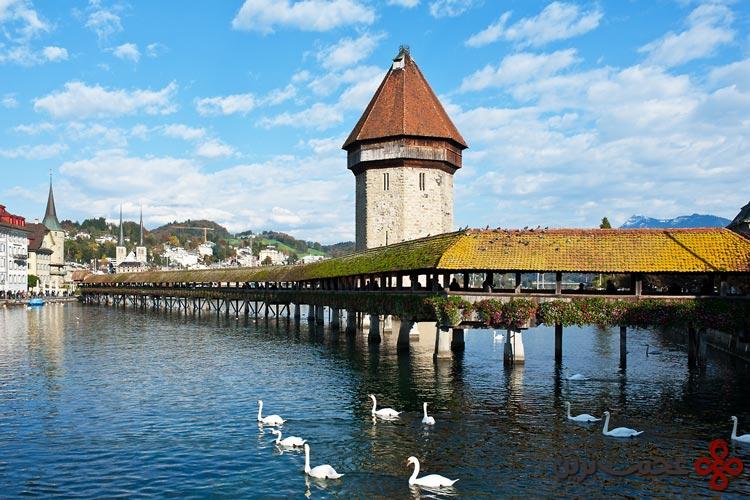 رودخانه reuss، سوئیس۳