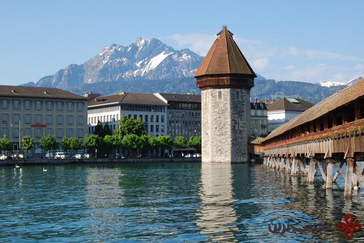 رودخانه reuss، سوئیس