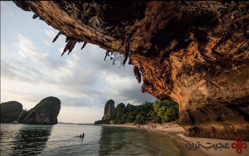 ساحل ریلی، جزیره کرابی، تایلند
