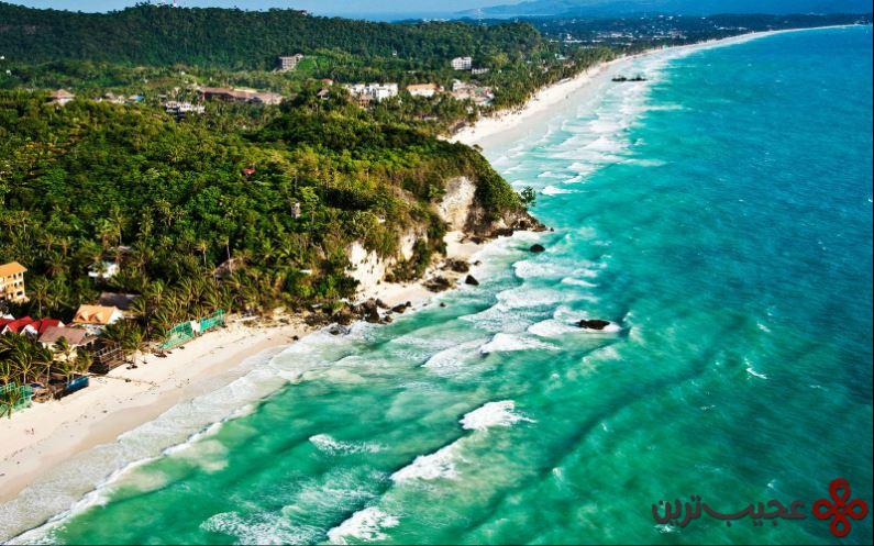 ساحل سفید، جزیره بوراچای، اندونزی