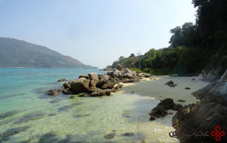 ساحل شامگاه، جزیره کولیپ، تایلند