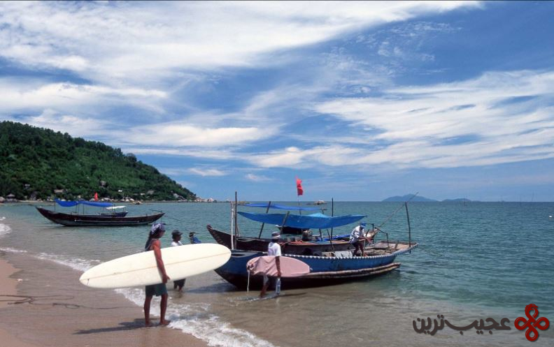 ساحل نانوک، شهر بندری دانانگ، ویتنام