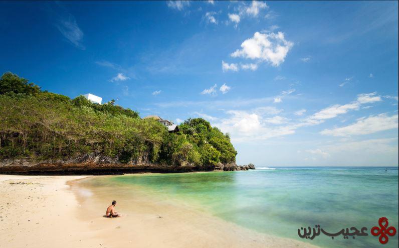 ساحل پادانگ پادانگ، جزیره بالی، اندونزی