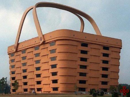 ساختمانی به شکل سبد