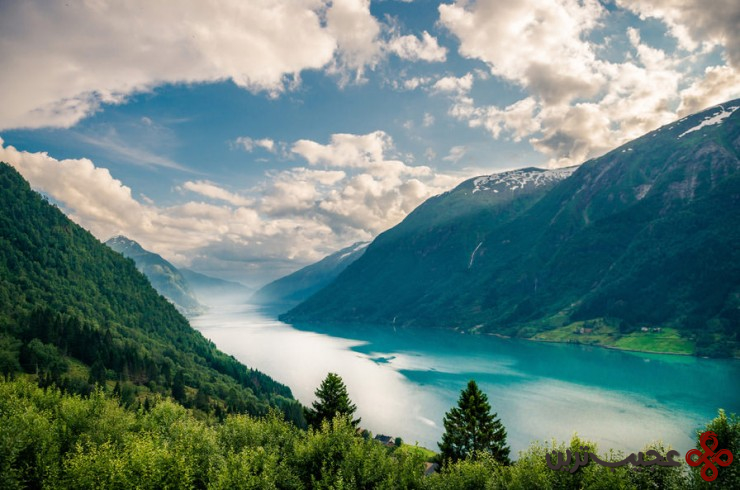 سونیهفیورد (sognefjord)، نروژ