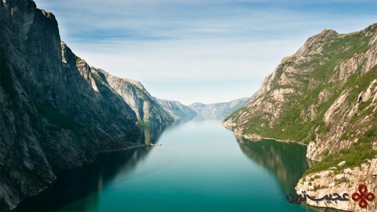 لیسهفیورد (lysefjorden)، نروژ 2