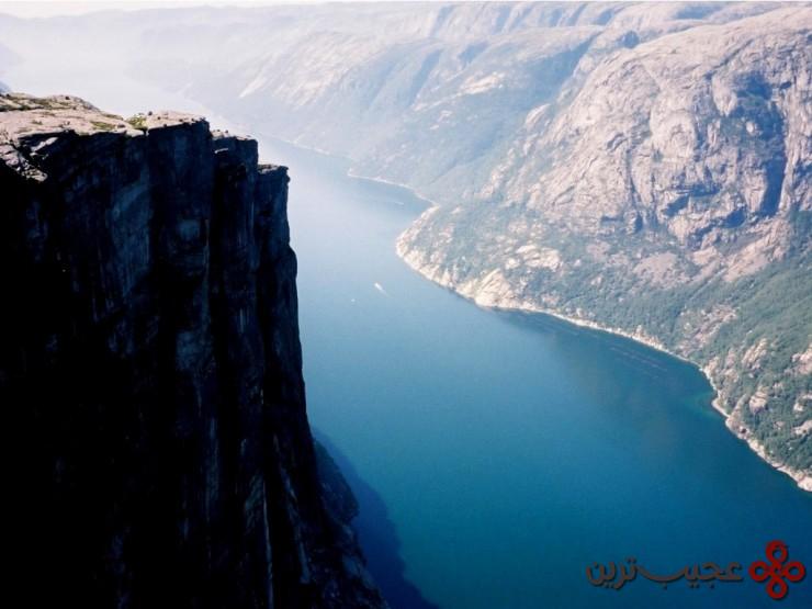 لیسهفیورد (lysefjorden)، نروژ 3