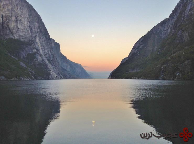 لیسهفیورد (lysefjorden)، نروژ 4