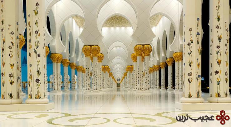 مسجد بزرگ شیخ زاید 3
