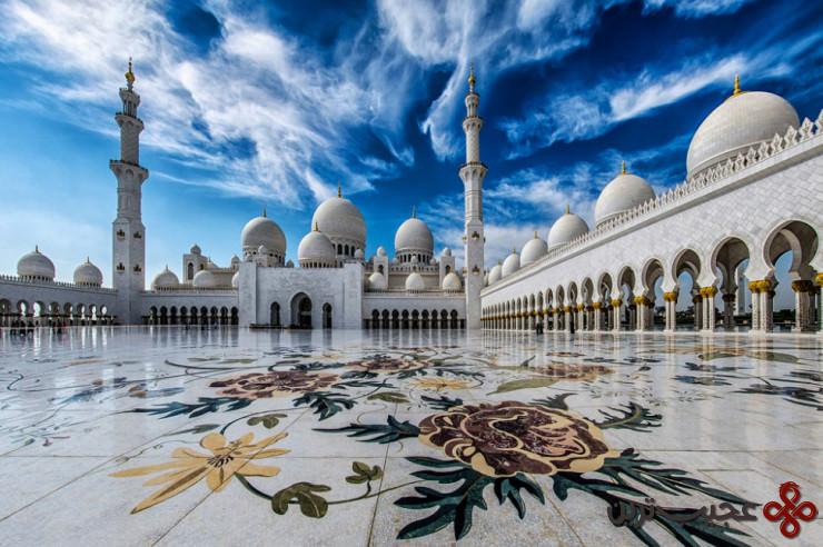 مسجد بزرگ شیخ زاید 4