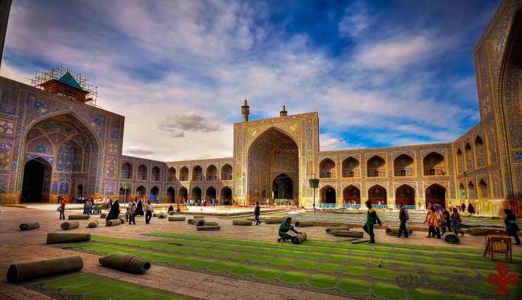 مسجد جامع اصفهان 3