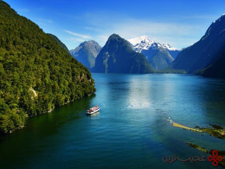 میلفورد ساند(milford sound)، جزیره جنوبی، نیوزیلند3