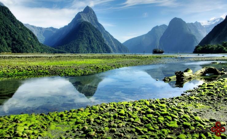میلفورد ساند(milford sound)، 7جزیره جنوبی، نیوزیلند