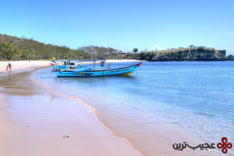 پینکبیچ (pink beach)