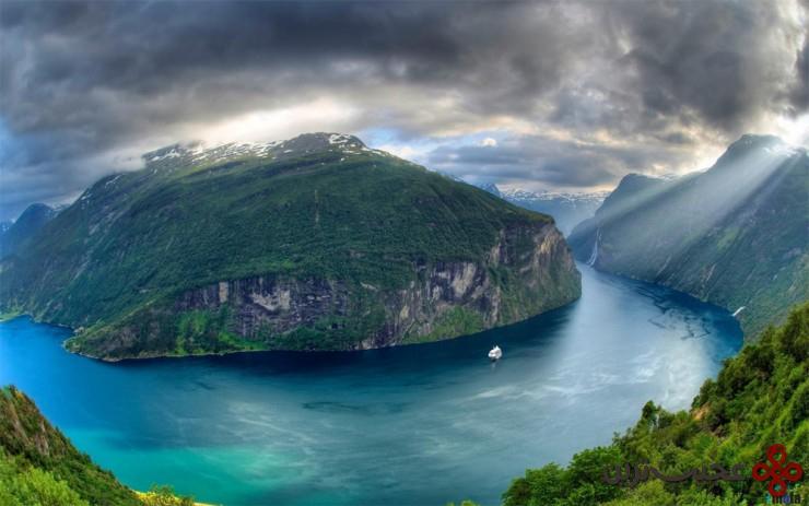 گیرانگرفیورد (geirangerfjorden)، نروژ
