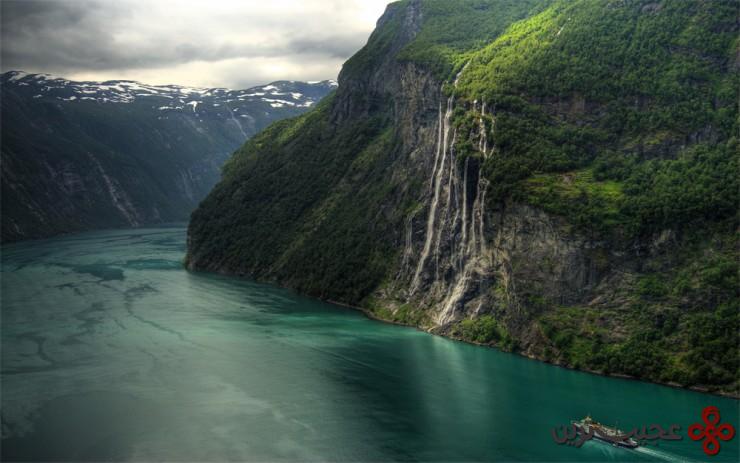 گیرانگرفیورد (geirangerfjorden)، نروژ2