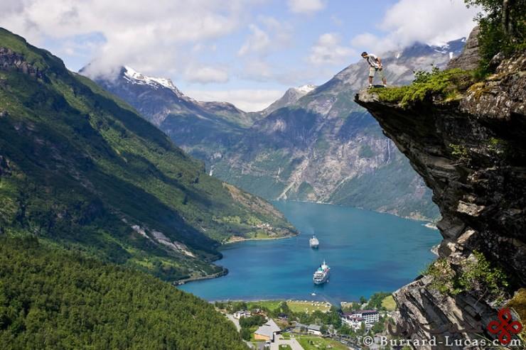 گیرانگرفیورد (geirangerfjorden)، نروژ4