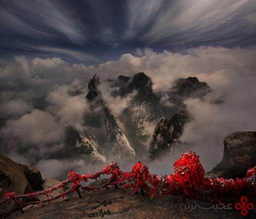 2 کوهستان هوآشان (huashan)، شیِن (xian)، چین