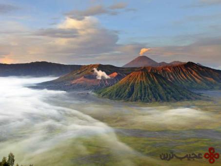 آتشفشان برومو، جاوای شرقی، اندونزی