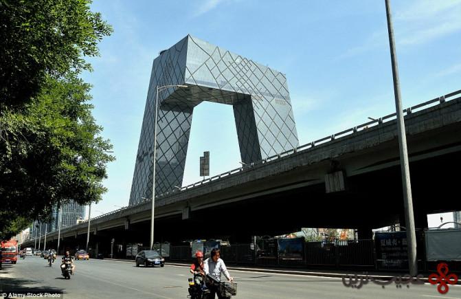 بنای مرکزی تلویزیون چین، بیجینگ