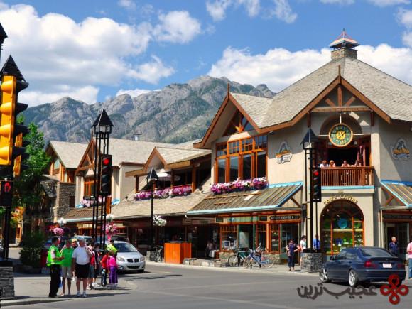 بنف (Banff)، کانادا