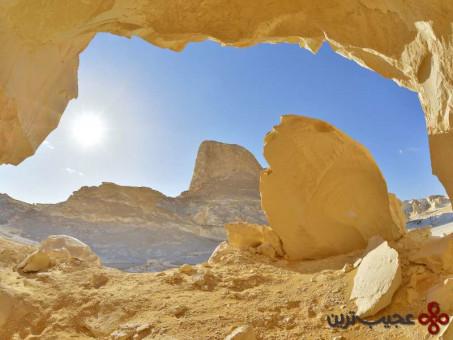 بیابان سفید، فارافرا، مصر