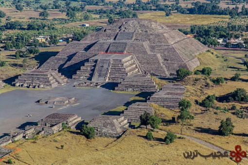 تئوتیئواکان (teotihuacan)، مکزیکوسیتی، مکزیک