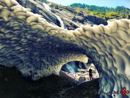 تماشای غارهای یخی در ایالت واشنگتن 3