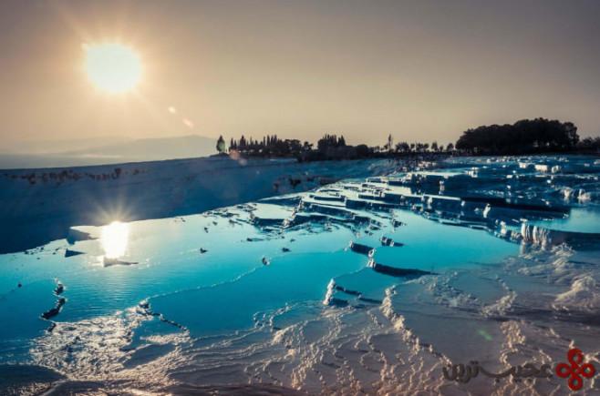دریاچههای آب گرم پاموکاله 2