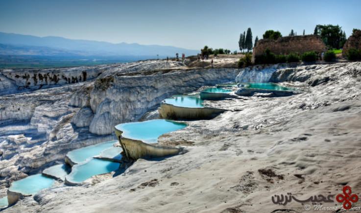 دریاچههای آب گرم پاموکاله 3