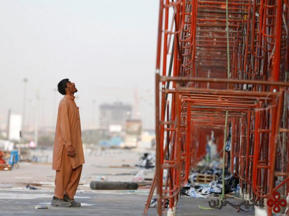 در حدود ۶۰ درصد نیروی کار عربستان سعودی را خارجیها تشکیل میدهند