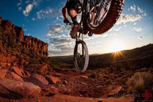 دوچرخه سواری در موآب (moab)، یوتا