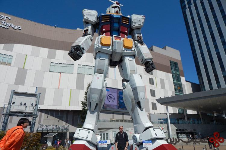 رباتهای غولپیکر توکیو