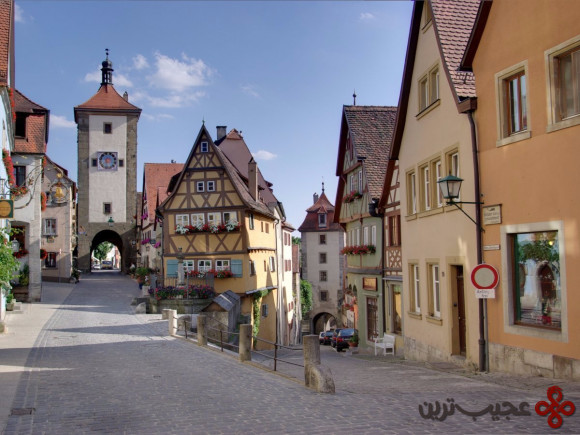 رتنبورگ آب در تاوبر (Rothenburg ob der Tauber)، آلمان