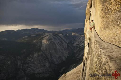 صعود رایگان با طناب از هالف دام؛ درهٔ یوسمیتی