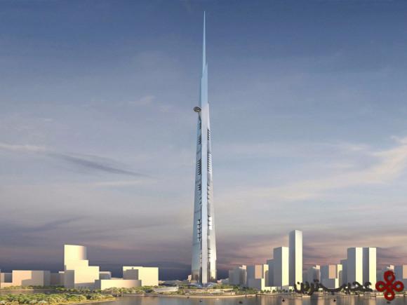 عربستان سعودی در حال ساخت بلندترین ساختمان جهان است