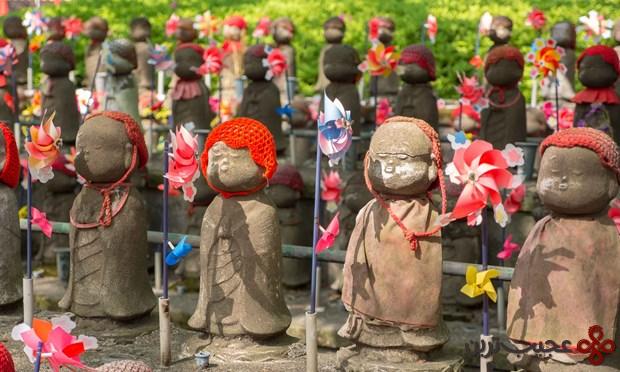 مجسمه های جیزو