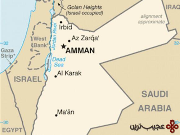 مرزی پر پیچ و خم میان عربستان و اردن