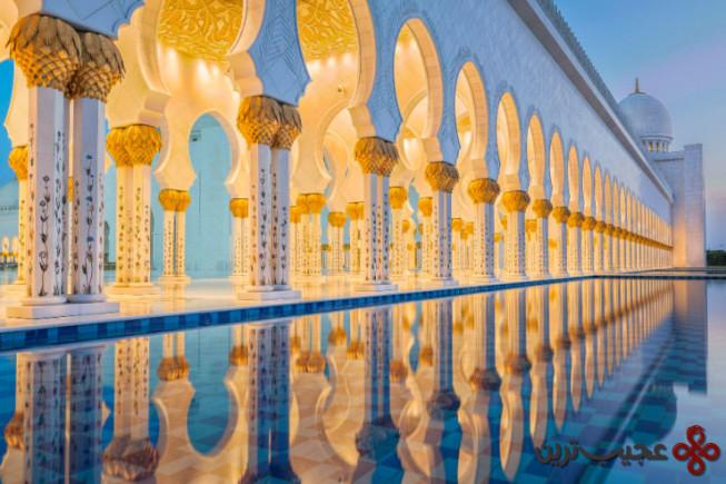مسجد جامع شیخ زاید 3