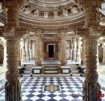 معبد dilwara، mount abu، راجستان، هند