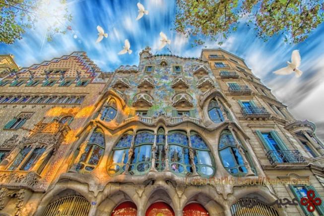 معماریهای بارسلونا 2